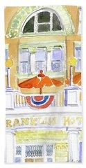 Deadwood-franklin Hotel Beach Towel