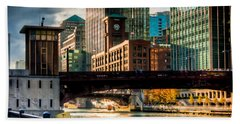 Dearborn Bridge Beach Towel