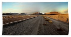 Death Valley Hitch Hiker Beach Towel
