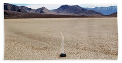 Death Valley Racetrack Beach Towel