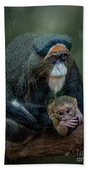 Debrazza's Monkey And Baby Beach Towel