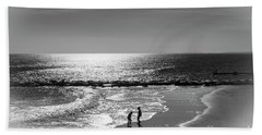 December At The Jersey Shore Beach Towel