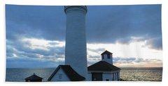 December Light, Tibbetts Point  Beach Sheet