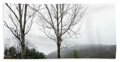 December Mist Beach Towel