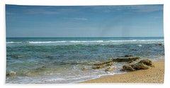 December Ocean Beach Towel