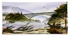 Deception Pass Bridge Beach Sheet