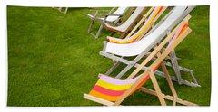 Deck Chairs Beach Sheet