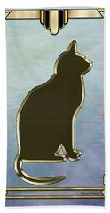 Deco Cat 2 Beach Sheet