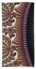 Decorative Fractal Texture Gray Brown Black Beach Sheet