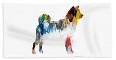 Decorative Husky Abstract O1015l Beach Sheet