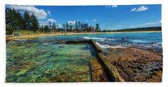 Dee Why Rock Pool Beach Towel