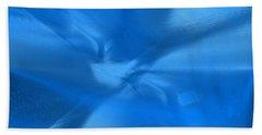 Deep Blue Beach Towel by Yul Olaivar