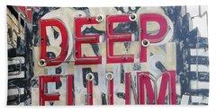 Deep Ellum Dallas Texas Beach Sheet
