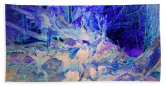 Beach Towel featuring the photograph Deep In The Forest by Joyce Dickens