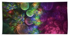 Deep Sea Flora I Beach Towel