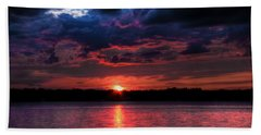 Deep Sky Beach Towel