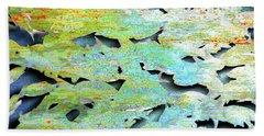 Beach Sheet featuring the mixed media Deep by Tony Rubino