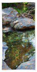 Deer Creek Point Print Beach Sheet