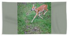Deer Dance Beach Towel