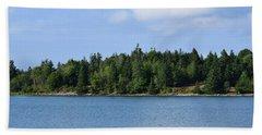 Deer Isle, Maine No. 5 Beach Sheet