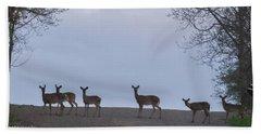 Deer Me Beach Towel