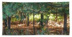 1011 - Deer Of Croswell I Beach Towel
