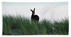 Deer Stop Beach Towel