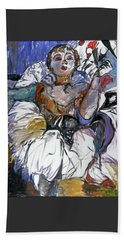 Degas Girl Beach Sheet