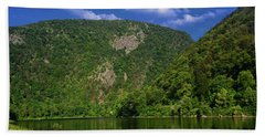 Beach Towel featuring the photograph Delaware Water Gap From New Jersey by Raymond Salani III
