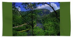 Beach Towel featuring the photograph Delaware Water Gap by Raymond Salani III