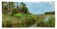 Delaware Wetlands Beach Towel