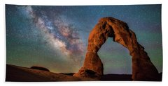 Beach Towel featuring the photograph Delicate Air Glow by Darren White