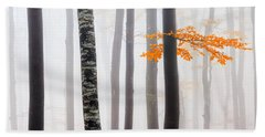 Delicate Forest Beach Towel