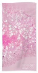 Delicate Pink Agate Beach Towel