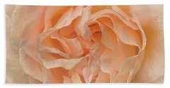 Delicate Rose Beach Towel by Jacqi Elmslie