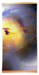 Delicate  Woman Beach Towel
