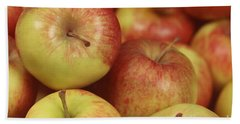 Delicious Apple Fruit Background Beach Towel
