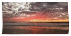 Delmar Beach San Diego Sunset Img 1 Beach Towel
