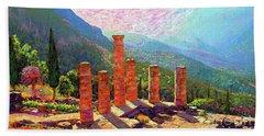 Delphi Magic Beach Towel