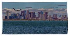 Delta Airlines Lands In Boston Beach Sheet