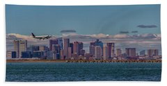 Delta Airlines Lands In Boston Beach Towel