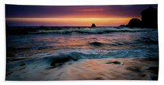 Demartin Beach Sunset Beach Towel