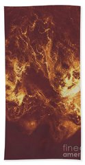 Demon Hellish Nightmare Beach Towel