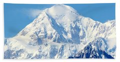 Denali From Denali Viewpoint South Beach Towel