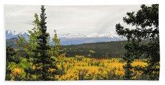 Denali National Park Landscape Beach Sheet
