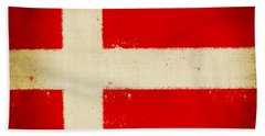 Denmark Flag Beach Towel