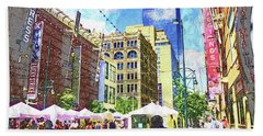 Denver Art Walk Beach Towel