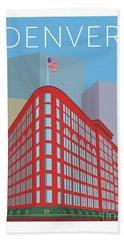 Denver Brown Palace/blue Beach Sheet