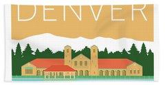 Denver City Park/adobe Beach Towel