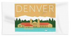 Denver City Park/adobe Beach Towel